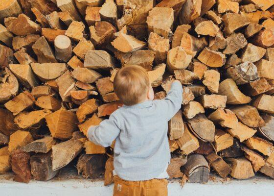 Tíz köbméter tekézett tűzifa
